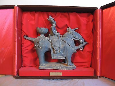 Rare Art Piece Korean Silla Dynasty Warrior on Horseback National Treasure 91