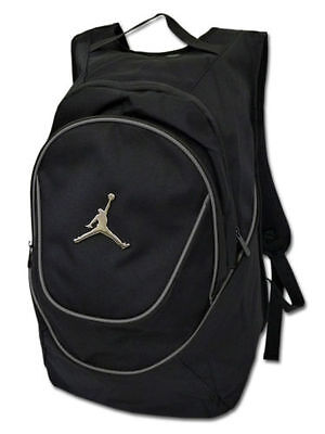 New Nike Air Jordan Mens Jumpman Backpack Bookbag - Gray Silver 23 basketball