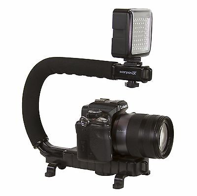 Cam Caddie Scorpion Jr Stabilizing Camera Grip for Sony Canon GoPro DSLR
