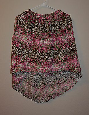 The Children Place Girls Skirt Size Large (10/12) NWT Multi-Pint