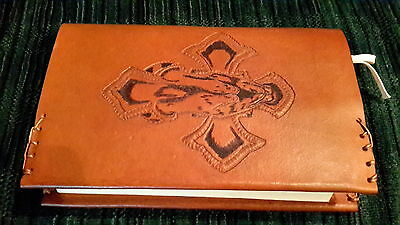 Bible/AA Big Book Cover (Hand Tooled Leather).