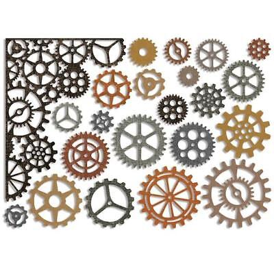 Sizzix Thinlits Cutting Dies By Tim Holtz - Gearhead 661184