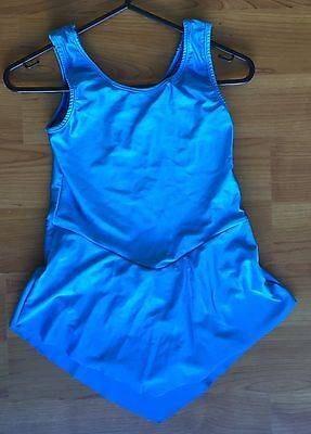 NEW!  Ice Roller Skating Dance Leotard Dress Costume - Girls Child Size 10