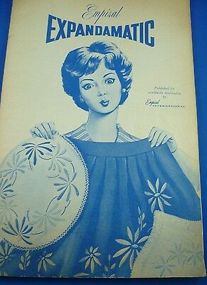 VINTAGE  EXPANDAMATIC EMPISAL MOTIFS AND PATTERN BOOK 24 cms x 37 cms