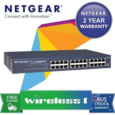 Netgear JGS524AU Prosafe 24 Port Gigabit Ethernet Switch