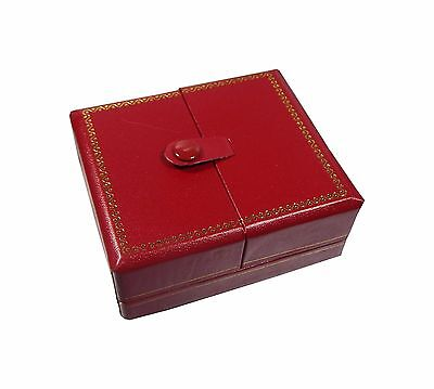 Deluxe Multiple Ring Gift Box Jewelry Organizer Case Display Jewelry Holder