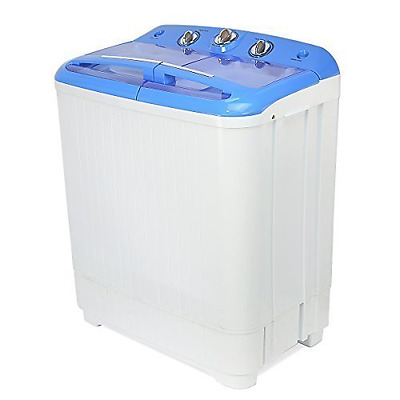 XtremepowerUS Electric Mini Washer and Spin Cycle Portable Washing Machine With