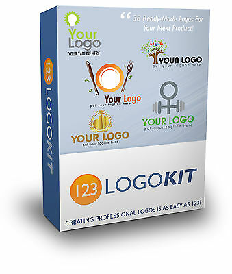 Logo Design Pack - Pre Built Logos w/ Sales Page and Resell Rights