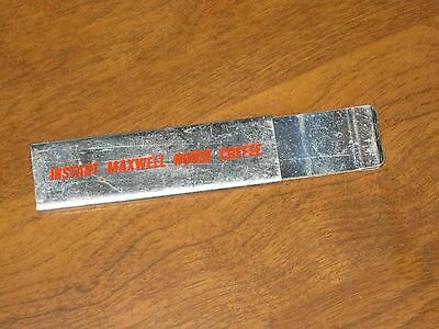 Vintage MAXWELL House COFFEE Box Cutter