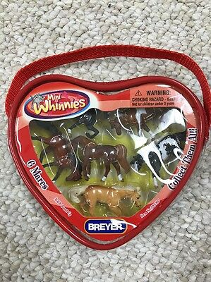 Breyer Mini Whinnies - Set of 6 Mares - NEW - Never Opened In Original Packaging