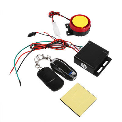 Car Safety Security Alarm System Remote Control Anti-theft Motorcycle Bike SS