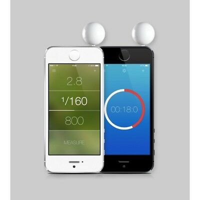 Lumu Mini Professional Light Meter for photography and videography (Silver)