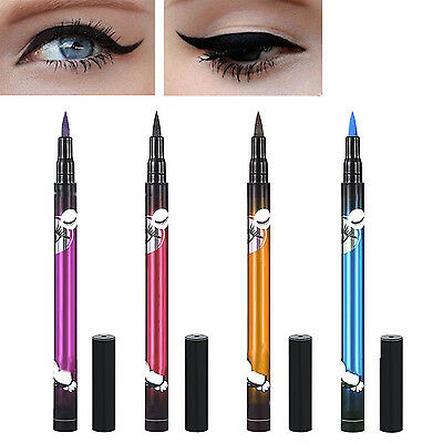 WOW New Black Waterproof Pen Liquid Eyeliner Eye Liner Pencils Make Up Beauty