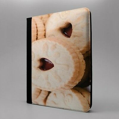 Jammie Dodgers Hearts Flip Case Cover For Apple iPad - T1078