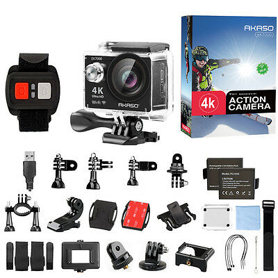 EK7000 HD 4K WIFI Sports Action Camera Waterproof DV Camcorder 12MP Refurbished