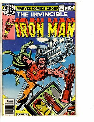 10 Iron Man Marvel Comic Books # 118 169 171 172 173 174 175 177 179 190 GJ4