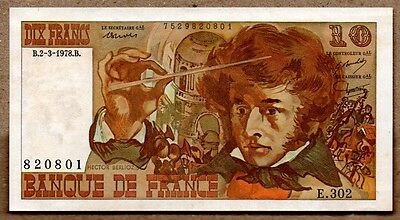 France XF Note 10 Francs 1978 P-150c