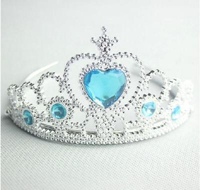 Tiara Girls dressing up Princess Frozen Pink Blue Green Red party  wand crown