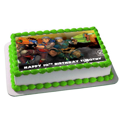 ZOMBIES 19CM EDIBLE Cake Topper Icing Image Birthday Party