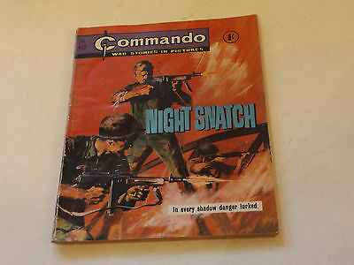 Commando War Comic Number 412!,1969 Issue,good For Age,48 Years Old,very Rare.