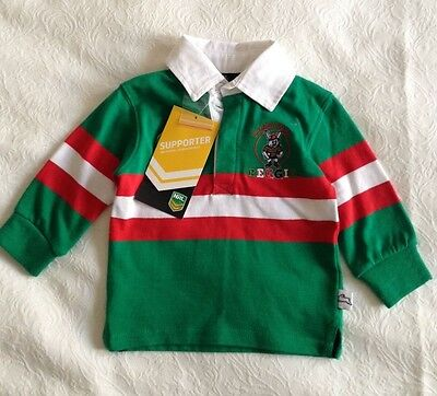 Official NRL South Sydney Rabbitohs Baby Shirt Size 0