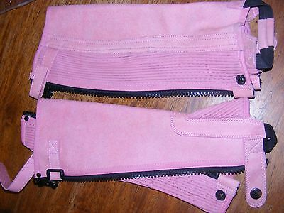 NEW EuroSport by Ascot Girl's sz 12 Riding chaps pink RRP $59.95