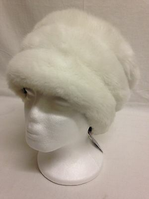 Brand new Claude d'Alban faux fur lined hat RRP $29