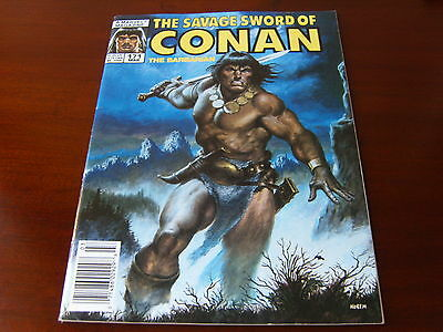 THE SAVAGE SWORD OF CONAN #171 - MAR 1990 - VF - MARVEL COMICS   x