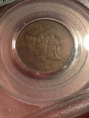 1795 c-5a liberty cap half cent PCGS VF30  Numismedia wholesale is 2685