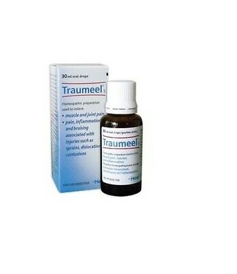 Traumeel S Oral Drops 30ml Pain Relief Analgesic Homeopathic Anti-Inflammatory