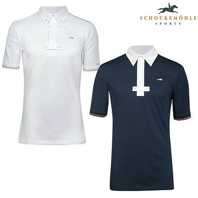 Schockemohle Mitchell Mens Show Shirt Competition Top - Navy - RRP £59.99