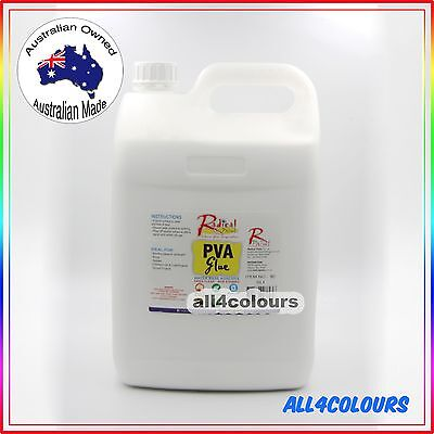 5L OZ Made PREMIUM NON TOXIC PVA Glue Washable adhesive for SLIME Non Staining