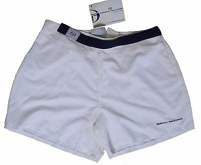 Sergio Tacchini tennis women short size: L - 46 - IV - with zip and elastic