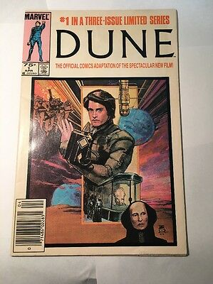 Marvel DUNE #1 in 3-Issue Limited Series Comic Book 1985