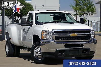 2013 Chevrolet Silverado 3500 W/T One Owner Clean Carfax 4x4 DRW Warranty 2013 White W/T One Owner Clean Carfax 4x4 DRW Warranty!
