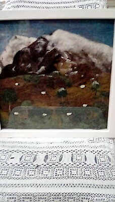 Hand Needle Felted Snow Capped Ben Nevis Picture