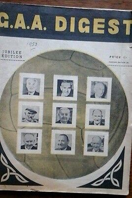 G.a.a. Digest  1953 Special Jubilee Edition Features Clare/kerry/new York Munste