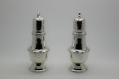 Sterling Silver Salt and Pepper Shakers 80 Grams
