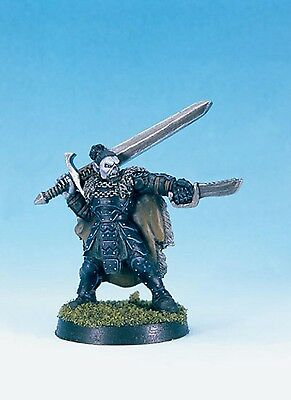WOTC METAL Chainmail Half-Orc Fighter. Dungeons and Dragons Chainmail METAL 2001