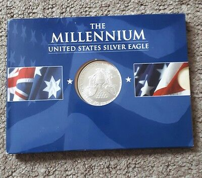 The Millennium United States Silver Eagle coin