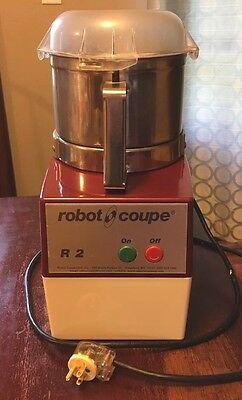 Robot Coupe R2 Commercial Food Processor - Stainless Bowl - Works