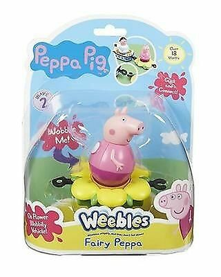 Peppa Pig - Weebles - Fairy Peppa + Mini Vehicle - Bnip