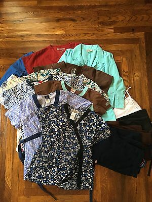 Lot of Size Small Women's Scrubs: Dickies, Grey's Anatomy, Cherokee, Urbane...