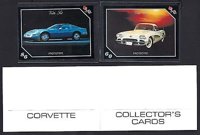 1991 Vette Set Prototypes - Corvette Collector's Cards Promotional Pack