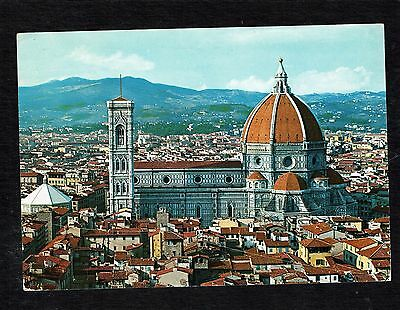 Firenze Italy Vintage Continential Postcard Includes Stamps
