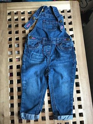 Girls Dungarees Age 18-24 Months