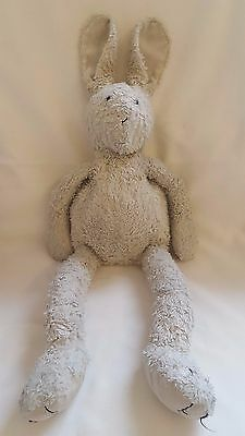 "Jelly Cat Rabbit Grey Teddy 21"" Large Plush Soft Toy"