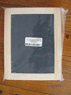 """Creative Hobbies 5"""" x 7"""" Synthetic Chalkboard With  Wood Frame -Pack of 6"""