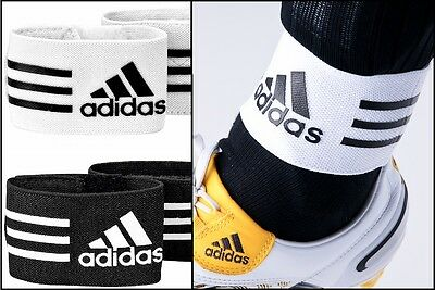 New ADIDAS Mens ShinPad Holder/Straps/Supports/Stays Football/Soccer Ankle Guard