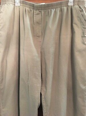 ONLY NECESSITIES - Women's Pants - Size 28W - Olive Green
